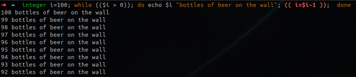 zsh giving you processes name for kill